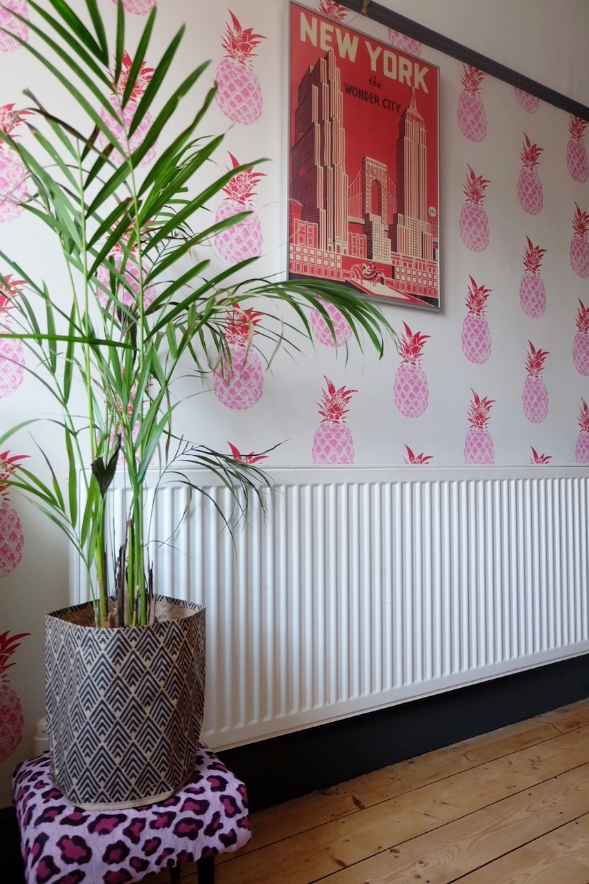 Barneby Gates Pineapple Wallpaper
