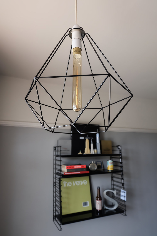 Ikea geometric lampshade