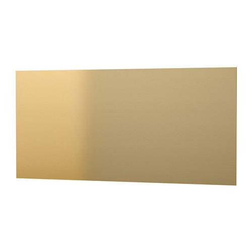Ikea brass wall panel