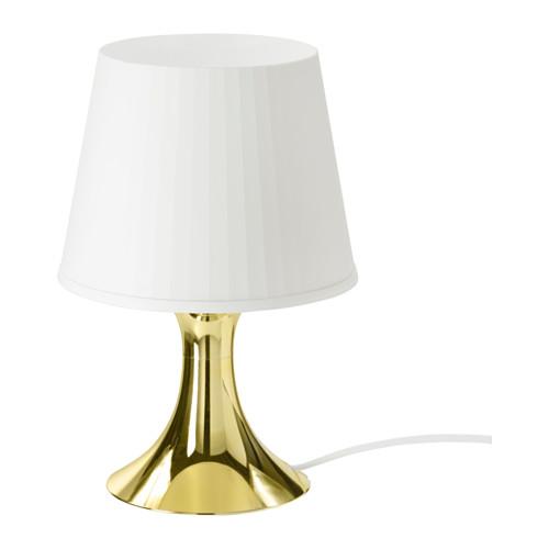 Ikea gold table lamp