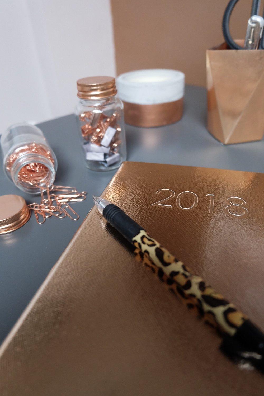 Copper 2018 diary