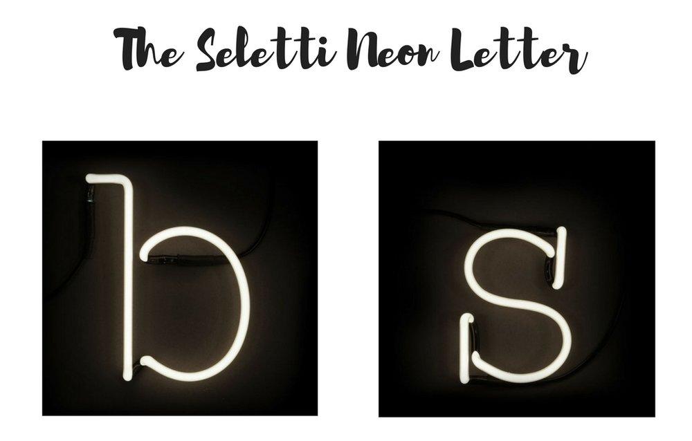 Seletti Letter Light