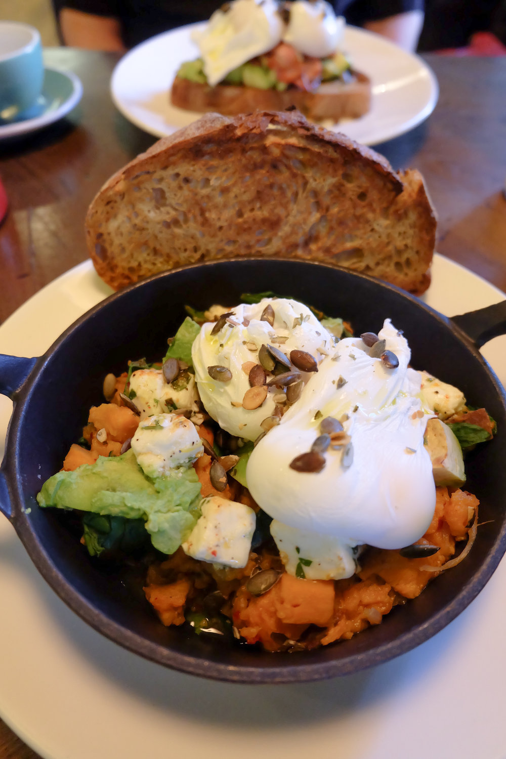 Vegetarian breakfast hash