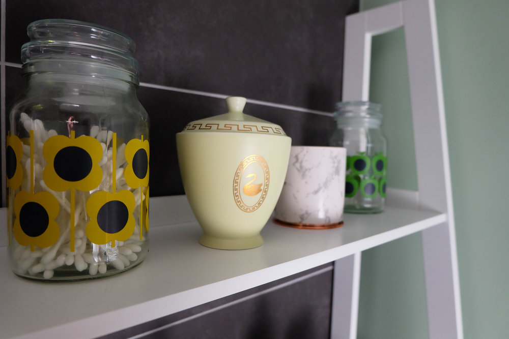 Bathroom jars