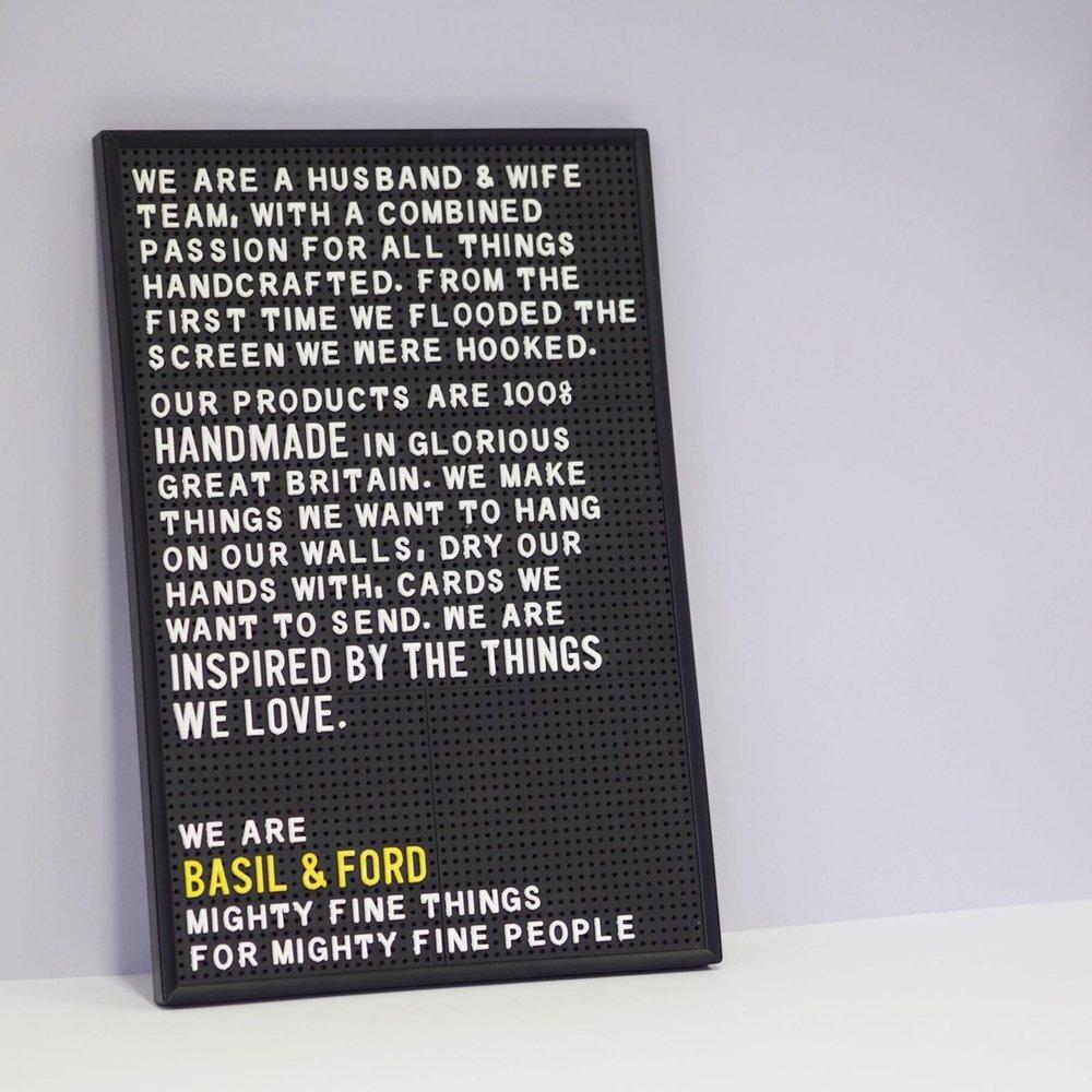 Basil & Ford