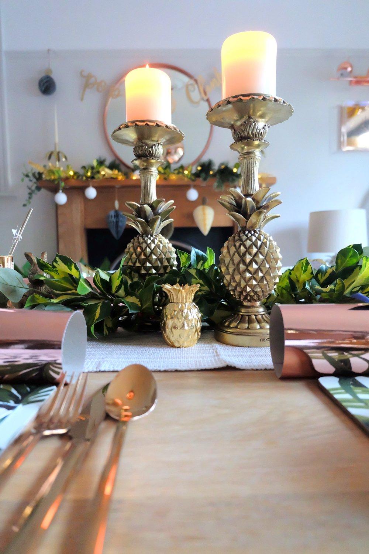 Pineapple candlesticks