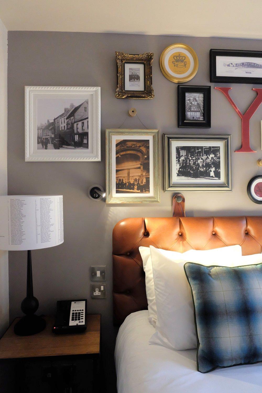 Modern shabby chic bedroom