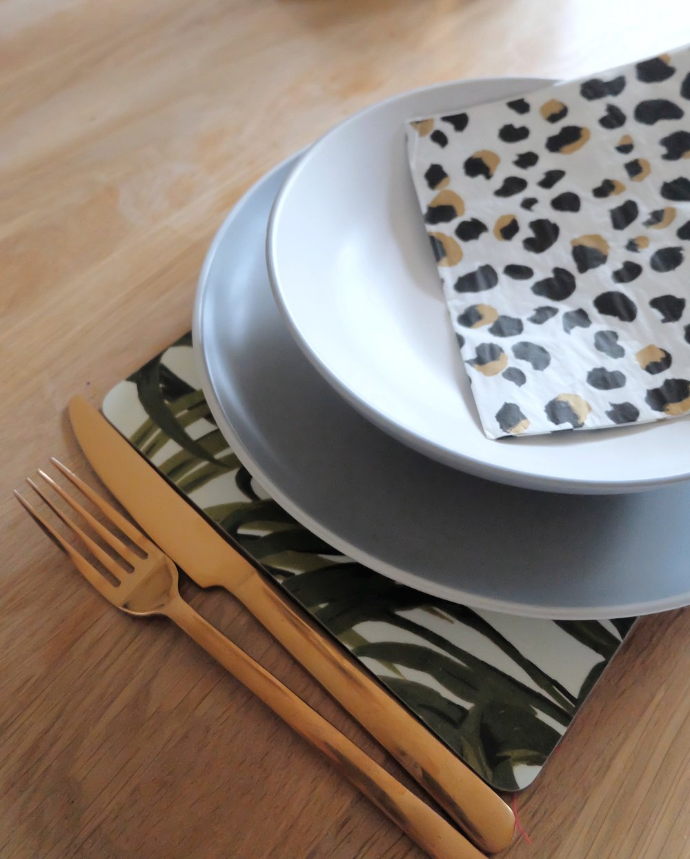 Next grey dinnerware