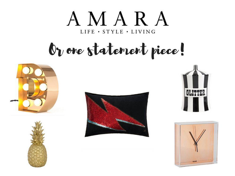 Amara statement pieces