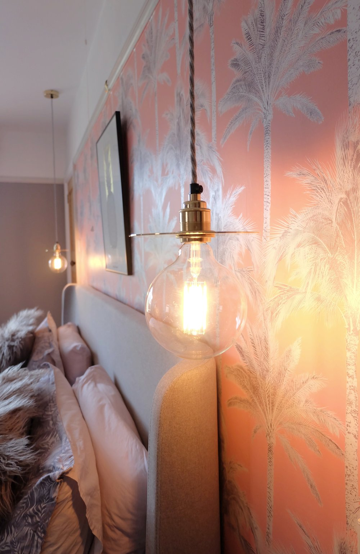 Bedroom mood lighting