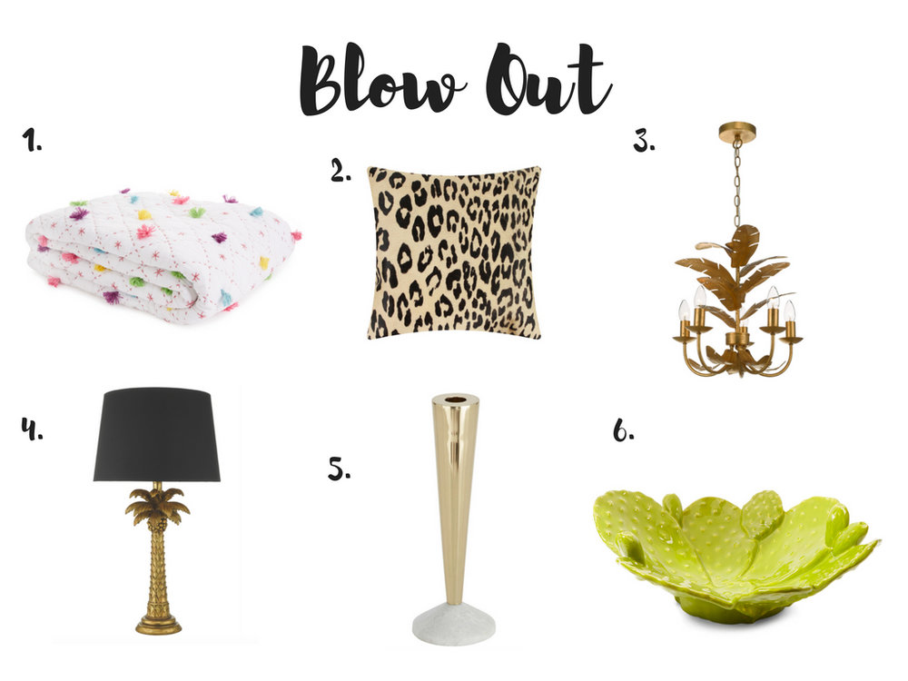 Summer 18 blow out interior sale buys