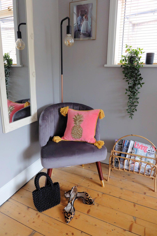 Cult Furniture velvet chair