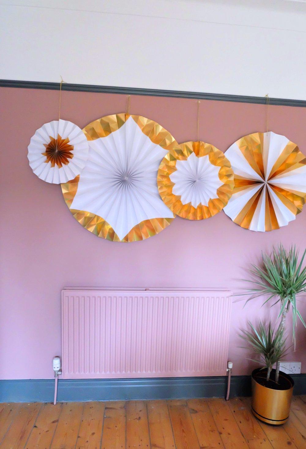 Meri Meri giant pinwheels