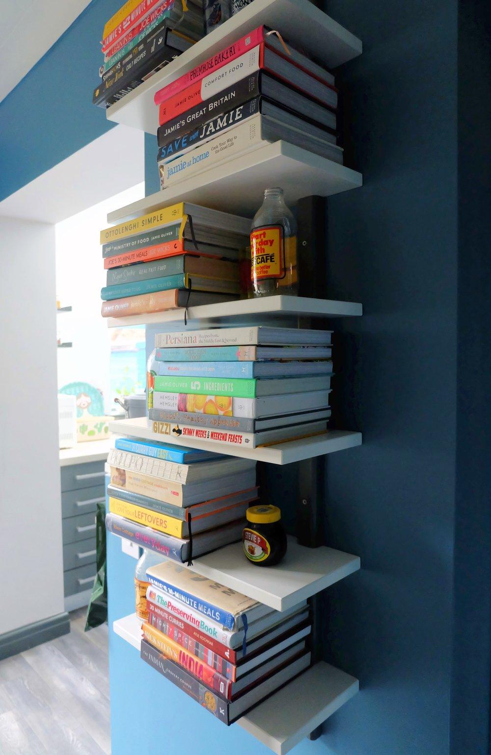 Ikea hack bookshelf