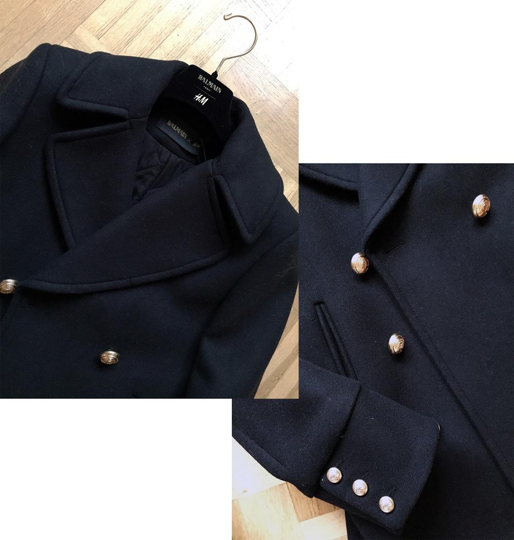 H&M x Balmain jacket