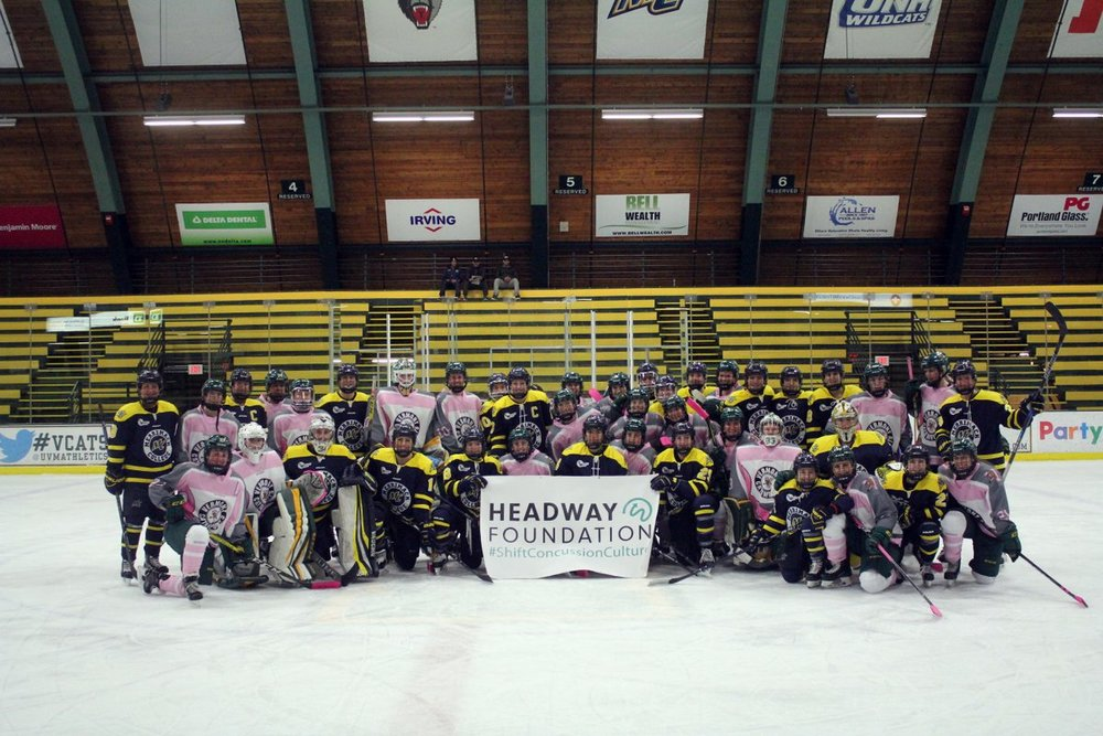 Merrimack & Vermont W Hockey