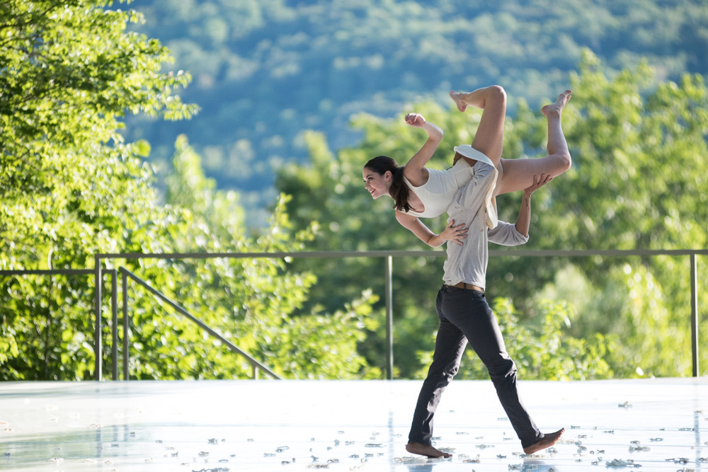 A magical moment from our performance of Joshua L. Peugh's  White Day  at  Jacob's Pillow Dance  Inside/Out  Photo by Cherylynn Tsushim Courtesy of Jacob's Pillow Dance