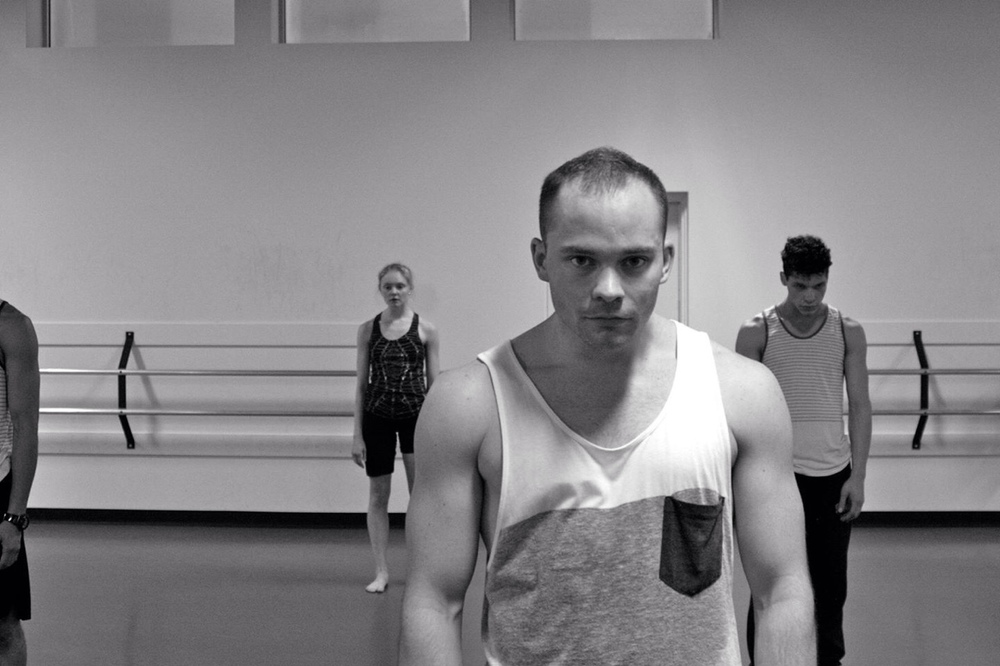 We've had a great first week with dancer David Cross. He will join us for our WINTER SERIES.