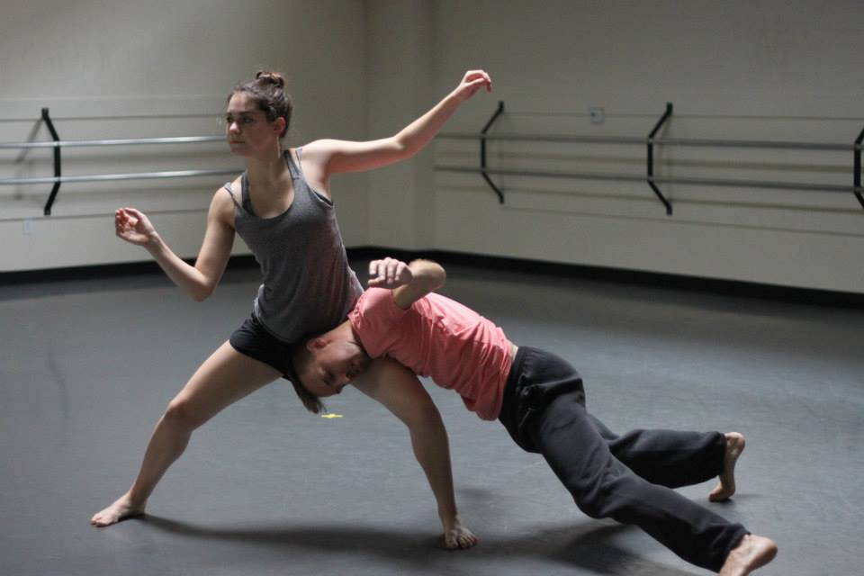 Rehearsing Artistic Director Joshua L. Peugh's new creation 'Beautiful Knuckleheads'    World Premiere Sept 4-6 The Sanders Theatre    Photo by Tania Lopez