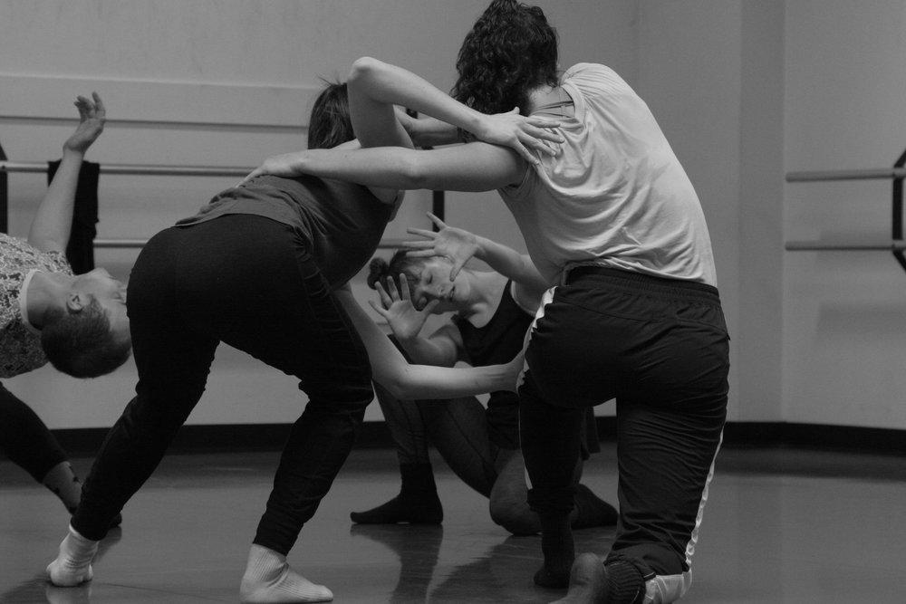 Taylor Rodman rehearses  Evermore .