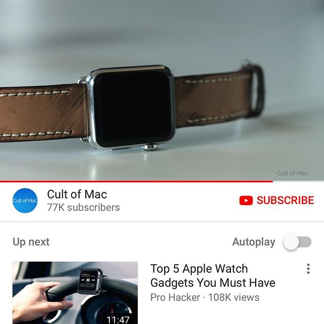 Be sure to check out @cultofmac for all the best @Apple news and reviews including a review of yours truly @strapley #cultofmac #strapley #handmade #apple #applewatch #handmade #leathers #iphone #applecustomwatchfaces