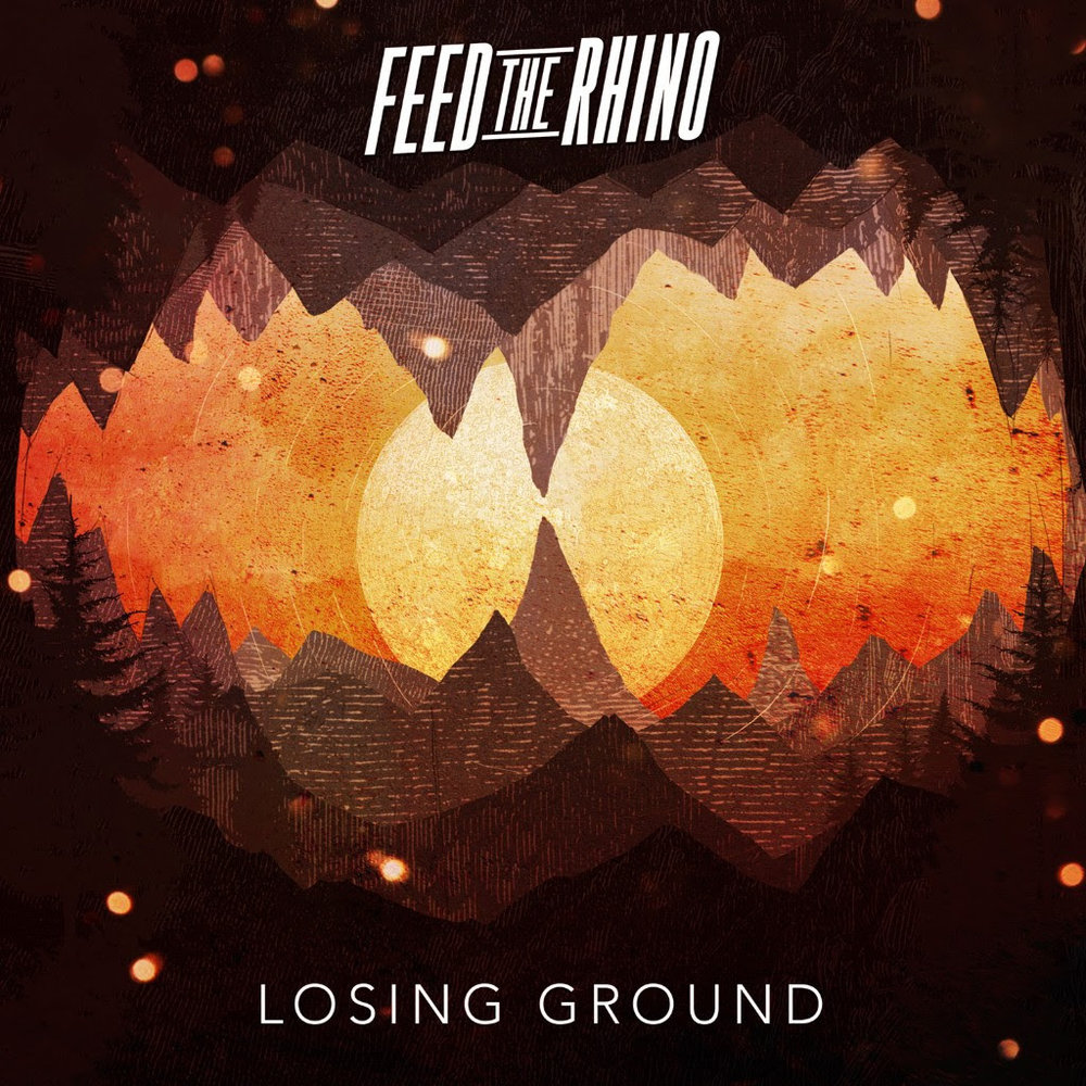 "UK's  FEED THE RHINO  proudly present the brand new single, ""Losing Ground"", from the forthcoming studio album, ""The Silence"", which will be released via  CENTURY MEDIA RECORDS  on February 16, 2018.  The band commented on the single stating, "" As a band, we've been developing the lighter side of our sound since our first album back in 2010, and have always wanted to be able to showcase a different side to the heavy, raucous music we are known for. 'Losing Ground' came from an idea that James had been jamming on an acoustic guitar, and when we heard Lee start singing on it, we knew we had something a bit different and that was so exciting to write and play. It also gave us some new avenues to go down with the production, so we had a lot of fun with that in the studio.The song means a lot to us and hopefully shows how much we have grown as a band! The song has so many possibilities in the way we play it too, so we are looking forward to getting to explore that a bit more. ""  Pre-order ""The Silence"" digitally and receive four singles ( ""Losing Ground"", ""Timewave Zero"", ""Heedless"" and ""Featherweight"") immediately!  https://feedtherhino.lnk.to/TheSilence    ""The Silence"" Track Listing  1. Timewave Zero (4:11) -  WATCH   2. Heedless (3:33) -  WATCH  3. Losing Ground (4:13) 4. 68 (3:08) 5. All Work And No Play Makes Jack A Dull Boy (3:33) 6. Yellow And Green (3:23) 7. Nerve Of A Sinister Killer (2:57) 8. Fences (3:38) 9. The Silence (3:47) 10. Lost In Proximity (3:21) 11. Featherweight (4:20) -  WATCH"