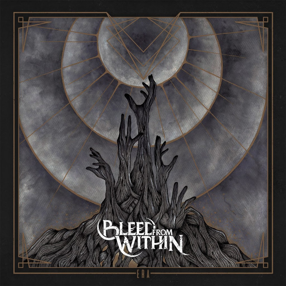"BLEED FROM WITHIN  are back! Five years in the making, ""Era"" marks the return of the Scottish quintet and is scheduled for digital release on April 6, 2018 via  CENTURY MEDIA RECORDS .  Recorded at Middle Farm Studios and  BLEED FROM WITHIN  headquarters from March to September of 2017, drums were produced and engineered by Adam 'Nolly' Getgood (Periphery, Animals As Leaders), who also mixed the album. ""Era"" also marks the first release featuring new guitar player, Steven Jones, a fellow Scot and producer/songwriter who joined the band two years ago and has since been an integral part of both writing, and recording.  Watch the music video for the band's debut single ""Alive"" now at  https://youtu.be/BCCpdwzCHvk .  Following the album's release,  BLEED FROM WITHIN  will perform three intimate record release shows across the UK.  Dates are as follows: 4/25   London, UK - Camden Assembly 4/26   Manchester, UK - Gullivers 4/27   Glasgow, UK - Saint Luke's Tickets are available now at  http://bleedfromwithin.com ."