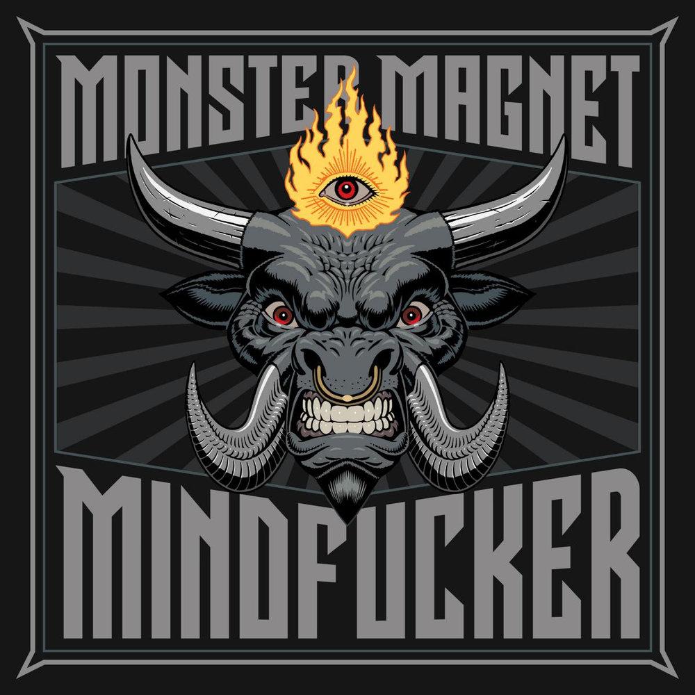 """MINDFUCKER"" track listing:  1. Rocket Freak 2. Soul 3. Mindfucker 4. I'm God 5. Drowning 6. Ejection 7. Want Some 8. Brainwashed 9. All Day Midnight 10. When The Hammer Comes Down    MONSTER MAGNET live on tour:  03.05.18 DE - Wiesbaden / Schlachthof  04.05.18 DE - Berlin / Desertfest Berlin  05.05.18 NL - Nijmeden / Doornroosje  06.05.18 UK - London / Desertfest London  08.05.18 DE - Cologne / Live Music Hall  09.05.18 DE - Saarbrucken / Garage  11.05.18 ES - Bilbao / Santana 27  12.05.18 ES - Madrid / Sala Riviera  14.05.18 CH - Pratteln / Z7  15.05.18 IT - Milan / Alcatraz Club  16.05.18 DE - Bochum / Zeche  18.05.18 DE - Nuremburg / Hirsch  19.05.18 NL - Groningen / Vera  21.05.18 DK - Copenhagen / Pumpehuset  22.05.18 SE - Stockholm / Debaser Strand  23.05.18 NO - Oslo / Blâ 24.05.18 SE - Malmö / Kulturbolaget (KB) 26.05.18 DE - Bremen / Schlachthof  28.05.18 BE - Leuven / Het Depot  29.05.18 BE - Ghent / Vooriut  31.05.18 UK - Manchester / Gorilla  01.06.18 UK - Glasgow / The Garage  02.06.18 UK - Belfast / Limelight  03.06.18 IR - Dublin / The Tivoli   MONSTER MAGNET line up:  Dave Wyndorf (vocals, guitar) Garrett Sweeny (guitar) Phil Caivano (guitar) Chris Kosnik (bass) Bob Pantella (drums)    For more info visit:   www.zodiaclung.com   www.facebook.com/monstermagnet   www.instagram.com/monstermagnetofficial"