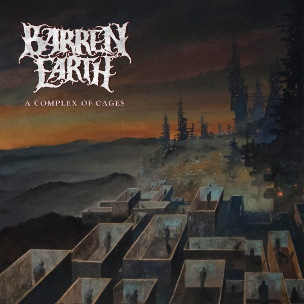 "Finnish progressive death metal supergroup,  BARREN EARTH , have released the brand new single ""Further Down"", taken off their upcoming album ""A Complex Of Cages"", out via  CENTURY MEDIA RECORDS  on March 30!    Listen to ""Further Down""at  https://youtu.be/Wee1WBKPOD4       Vocalist Jón Aldará comments, "" For me, this truly feels like a transcendental album for us. The songwriting dynamics have changed quite drastically since 'On Lonely Towers', and even though every song is quite unmistakably Barren Earth, the album as a whole brings us towards something stranger.   Lyrically, the album follows a theme that fits the instability of the music, namely the isolating aspect of suffering from different mental issues such as manic depression, psychopathy and agoraphobia.""    Bassist Oppu adds, "" Like Barren Earth's previous works, the album's material varies from straightforward standards to experimental opuses. Still, the red line is there, and every song asserts its place in the whole. Brutal death metal, artsy prog rock, pompous melodies with dozens of layers... This music has been crafted without any external pressure, radiating utter spiritual liberation.     Production-wise I see 'A Complex of Cages' as an improved version of Barren Earth, thanks to V.Santura, who supervised the album making process and let us concentrate solely on composing, arranging and performing. ""     ""Further Down"" is available as a digital single on all download and streaming platforms and as an Instant Grat Track with all digital pre-orders.   Reserve your copy now at  https://BarrenEarth.lnk.to/AComplexOfCages      BARREN EARTH live :  3/30    Helsinki, FIk - Kuudes Linja 4/1     Tampere, FI - YO-talo, SAARIHELVETTI EASTER BASH    BARREN EARTH is:   Marko Tarvonen - Drums Olli-Pekka Laine - Bass Antti Myllynen - Keyboards Jón Aldará - Vocals Sami Yli-Sirniö - Lead guitars Janne Perttilä - Rhythm guitars    BARREN EARTH online:    http://www.barrenearth.com   https://www.facebook.com/BarrenEarth   https://twitter.com/BarrenEarthBand   http://instagram.com/BARRENEARTH   http://www.last.fm/music/Barren+Earth"