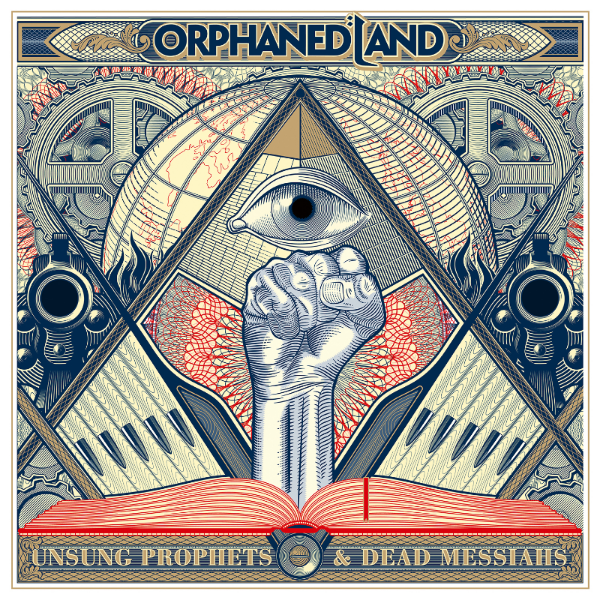 "ORPHANED LAND  have just recently released their new, critically acclaimed album ""Unsung Prophets & Dead Messiahs"" via  CENTURY MEDIA RECORDS . Stream/download it now at  https://OrphanedLand.lnk.to/UnsungProphetsAndDeadMessiahs    You can check out the album's singles below: ""Chains Fall To Gravity (feat. Steve Hackett"":  https://www.youtube.com/watch?v=ks52bFQKIDo  ""We Do Not Resist"":  https://www.youtube.com/watch?v=Ti-bSKTnN1w  ""Like Orpheus (feat. Hansi Kürsch)"":  https://www.youtube.com/watch?v=hurWzo01FpM     ORPHANED LAND  are currently on tour in Europe and will return to North America this May in support of Faroese viking metallists Tyr, dates of which are yet to be revealed. Stay tuned for more details!   ORPHANED LAND European Tour Dates:  3/13   Munich, DE - Backstage 3/14   Borgo Priolo, IT - Dagda Live Club 3/15   Rome, IT - Jailbreak Live Club  3/16   St. Maurice, CH - The Manoir Pub 3/17   Zug, CH - Galvanik  3/18   Pagney, FR - Chez Paulette  4/25   Binyamina, IS - Shuni Fortress  6/15   Zamora, ES - Z! Live Rock FRestival  6/17   Paris, FR - Festival des Cultures Juives  6/22   St. Goarshausen, DE - Rockfels Fest  8/9     Vagos, PT - Vagos Open Air  8/11    Saint Helens, UK - Catton Park    ORPHANED LAND is:   Kobi Farhi – Vocals Chen Balbus – Guitars Idan Amsalem – Guitars Uri Zelcha – Bass Matan Shmuely – Drums    ORPHANED LAND online:    http://www.orphaned-land.com/   https://www.facebook.com/OrphanedLandOfficial"