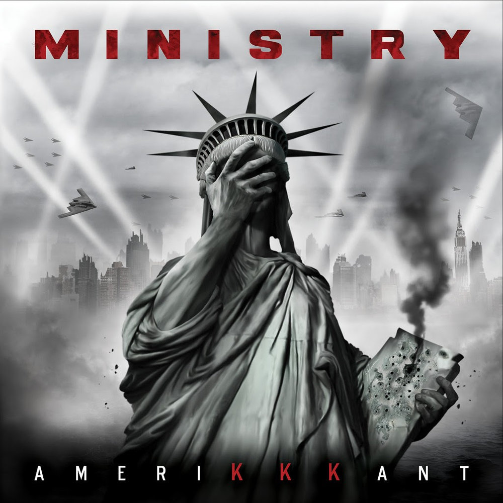 "For  Al Jourgensen  and  MINISTRY , writing, recording and releasing their new album   AmeriKKKant   is just one step in shining a bright light on the dangerous and unsustainable road our Government is currently taking us down; the next step is to help empower young people with their Constitutional right to vote.     ""Voting is really important,"" said  Jourgensen .  ""It allows every American citizen to have his voice heard, to put across your opinion on how the government should operate, it contributes to change.   MINISTRY  registered 50,000 people to vote for the 2008 election, and we want to help make a difference for this fall's election and for 2020.  So, we've invited HeadCount to join us on our 'AmeriKKKant' tour.""    At more than half of the U.S. tour dates (see below), HeadCount will be on hand near the merch tables to talk to concert goers about how voting can help make a real difference, and get them registered.  Those interested are also invited to visit  HeadCount's site  where they can register to vote online.     Added  Andy Bernstein , Headcount's Executive Director, ""HeadCount couldn't be more excited to host voter registration drives at Ministry shows this year and beyond. Voting is the cornerstone of democracy, and it's incredible to see Al use his platform to make a difference in our society.""   For these North American dates, Jourgensen has assembled an impressive group of all-star musicians -  MINISTRY  stalwarts  Sin Quirin  and  Cesar Soto  on guitars,  Tony Campos   on bass, and keyboardist  John Bechdel , along with guest vocalist  Burton C. Bell  ( Fear Factory ) and live scratcher  DJ Swamp  ( Beck ,  The Crystal Method ).  The band will present a brand new set list that will include more new songs from   AmeriKKKant ,  giant inflatable Trump chickens, video screens projecting images to compliment the music, and a couple of Antifa soldiers.   Said  Jourgensen , ""Old friends, new music...Dream lineup, nightmare world.  And a chance to make a real difference in the world.  Get your ass to this show...this one will be memorable.""    MARCH  22  House of Blues, Anaheim, CA ** 23  Ventura Theatre, Ventura, CA 24  Brooklyn Bowl, Las Vegas, NV ** 26  Ace of Spades, Sacramento, CA ** 28  Roseland Theatre, Portland, OR ** 29  Vogue Theatre, Vancouver, BC  CANADA 31  Union Hall, Edmonton, AB  CANADA    APRIL   1   Palace Theatre, Calgary, AB  CANADA  3   Wilma Theatre, Missoula, MT  5   Bourbon Theatre, Lincoln, NE  7   Riviera Theatre, Chicago, IL **  8   Turner Hall Ballroom, Milwaukee, WI 10  Bogart's, Cincinnati, OH ** 11  20 Monroe Live, Grand Rapids, MI ** 12  Egyptian Room, Indianapolis, IN ** 14  Opera House, Toronto, ON  CANADA 15  MTelus, Montreal, QC  CANADA 17  Royale, Boston, MA ** 18  Aura, Portland, ME ** 19  Paramount Theatre, Huntington, NY 21  Wellmont Theatre, Montclair, NJ 22  Town Ballroom, Buffalo, NY 23  Rams Head Live, Baltimore, MD ** 25  Center Stage, Atlanta, GA ** 26  Hard Rock Live, Orlando, FL ** 28  Levitation Festival, Austin, TX   ** dates where HeadCount will be registering voters    ABOUT HEADCOUNT:  HeadCount is a non-partisan organization that uses the power of music to register voters and promote participation in democracy.  We reach young people and music fans where they already are - at concerts and online - to inform and empower.  Our message is not about what party your support or where you land on an issue.  It's that you must speak to be heard.   Musicians and their fans can be leaders in worldwide social movements.  HeadCount is focused on harnessing that ability and translating it into real action.  Our goal is to help shape policy tna culture in America by galvanizing the music community into a politically influential force."