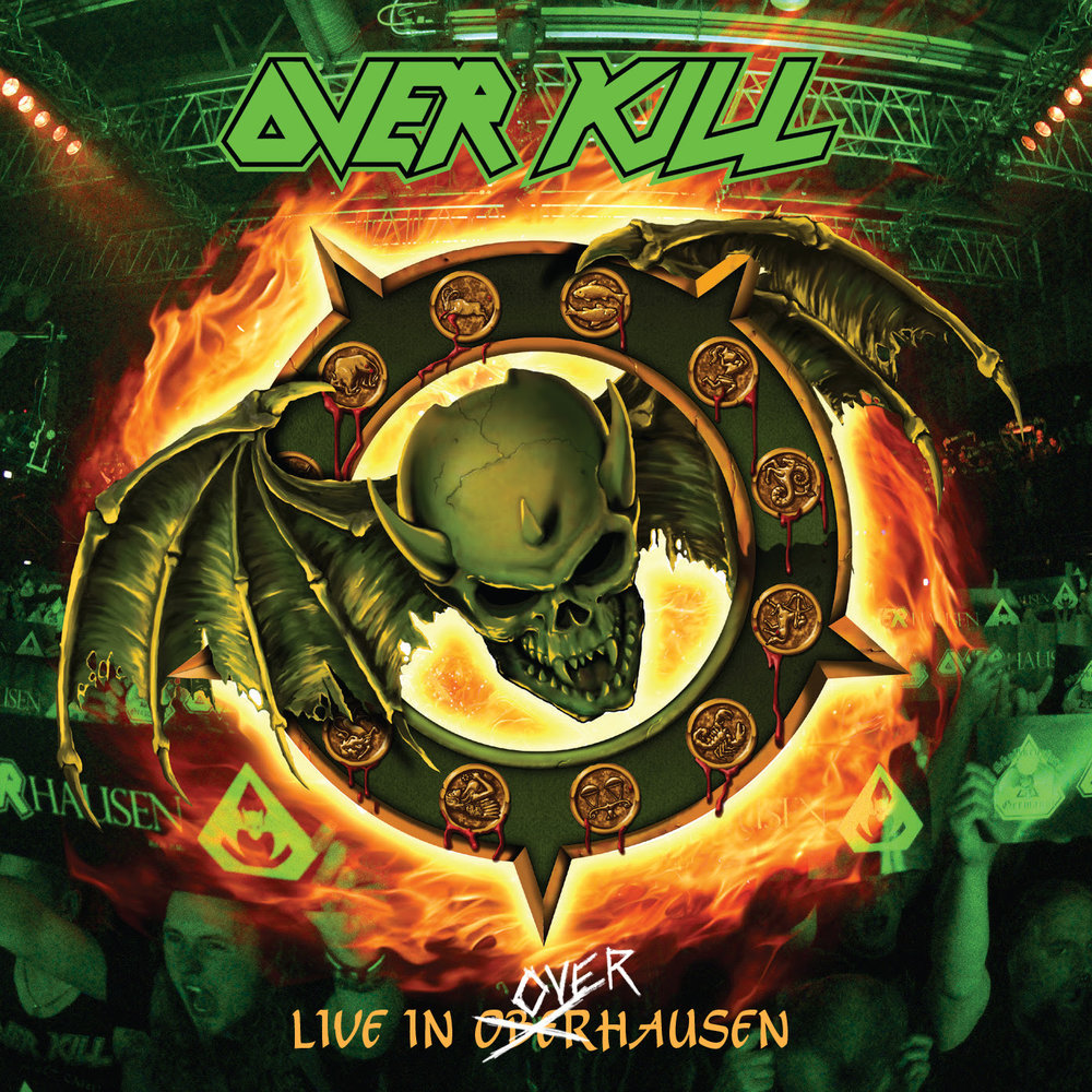 "Legendary New Jersey thrashers,  OVERKILL  have announced they will release their   Live In Overhausen   album on May 18, 2018 via  Nuclear Blast.   Today, the band released the first trailer for this upcoming release. Check it out and get more info on the idea behind the live album:  https://youtu.be/XR3rqUKmlA8   Celebrating the band's history ,  Live In Overhausen  , captured not one but two album anniversaries. Fans assembled on April 16, 2016   at    Turbinenhalle 2  in  Oberhausen ,  Germany  for the 25th Anniversary   of  Horrorscope   and 30th Anniversary of   where it all began ,    Feel The Fire .  A full night of kill from the past played loud and in its entirety!  Check out the video for "" Hammerhead "" here:  https://youtu.be/xUdJdte2_SA    OVERKILL 's   Live In Overhausen   will be available in different formats:  2 CD + Blu Ray Digipak  2 CD + DVD Digipak  LP (Limited edition Splatter, Green, Black)    Feel The Fire   (Live in Overhausen)   Horrorscope  (Live in Overhausen)  Mail-Order Edition   Track Listing For   Live In Overhausen   1     Coma 2     Infectious 3     Blood Money 4     Thanx For Nothin' 5     Bare Bones 6     Horrorscope 7     New Machine 8     Frankenstein 9     Live Young Die Free 10     Nice Day - for a Funeral 11     Soulitude 12     Raise The Dead 13     Rotten To The Core 14     There's No Tomorrow 15     Second Son 16     Hammerhead 17     Feel The Fire 18     Blood and Iron 19     Kill at Command 20     Overkill 21     Fuck You  You can pre-order the products here:  nuclearblast.com/overkill-liveinoverhausen   Order your copy of the album on either  iTunes    or  Amazon  and receive "" Hammerhead""  instantly !   Catch  OVERKILL  live:  5/05/2018  MEX    Mexico City - Corona Hell & Heaven 5/18-20/2018  D  Gelsenkirchen - Rock Hard Festival 7/10/2018  H  Dunaújváros - Rock Maraton 7/12/2018  E  Viveiro - Resurrection Fest 7/13/2018  D  Balingen - Bang Your Head!!! 7/14/2018  NL  Eindhoven - Dynamo Metalfest  More on  OVERKILL :  ""Our Finest Hour""  OFFICIAL LYRIC VIDEO:  https://www.youtube.com/watch?v=ElxZ1oz9A68   ""Mean, Green, Killing Machine""  OFFICIAL LYRIC VIDEO:  https://www.youtube.com/watch?v=5tN-70ESO3A   ""Goddamn Trouble""  OFFICIAL VIDEO:  https://www.youtube.com/watch?v=GSbgxG-jLMU   ""Shine On""  OFFICIAL VIDEO:  https://www.youtube.com/watch?v=_U0g9AsieWY   Order you copy of   Live In Overhausen   here: nuclearblast.com/overkill-liveinoverhausen"