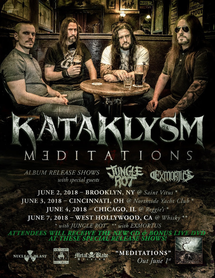 c8a68c2ea849 Montréal based melodic death metallers KATAKLYSM are set to unleash their  new studio album