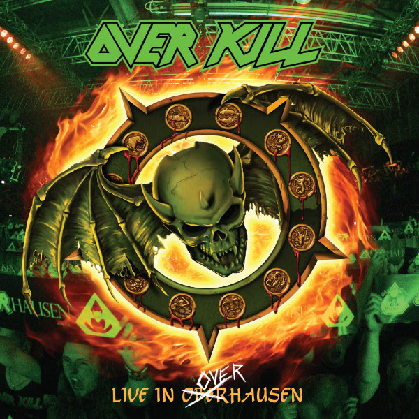"""Legendary New Jersey thrashers, OVERKILL have announced they will release their   Live In Overhausen  album on May 18, 2018 via  Nuclear Blast.   Today, the band have released the video clip for the second digital single  """"Thanx For Nothin'"""". The video can be seen here: https://www.youtube.com/watch?v=JssocguY1oQ   The band states:  """"I think what made this special for us was all of our involvement from start to finish, the guys, the label, the agent. I remember DD and I talking in Belgium at the Alcatraz Fest, about doing both records for the DVD. It couldn't have been more than 5 minutes later, our guy Jaap, from NB walks in ...he says:'both? In one night?' - 'Yea, both.....it's fucking Overkill'""""   Pre-order  »Live In Overhausen« here: www.nuclearblast.com/overkill-liveinoverhausen  Order your digital copy of the album on either iTunes or Amazon and receive  'Hammerhead' and  'Thanx for Nothin'' instantly!  Check out the video trailers:  Trailer #1:  https://www.youtube.com/watch?v=XR3rqUKmlA8   Trailer #2:  https://www.youtube.com/watch?v=gK7FjL1qLkk   Also watch the  'Hammerhead' live video, here: https://www.youtube.com/watch?v=xUdJdte2_SA   Celebrating the band's history , Live In Overhausen  ,captured not one but two album anniversaries. Fans assembled on April 16, 2016  at   Turbinenhalle 2  in  Oberhausen , Germany  for the 25th Anniversary  of  Horrorscope  and 30th Anniversary of  where it all began ,   Feel The Fire . A full night of kill from the past played loud and in its entirety!   OVERKILL 's   Live In Overhausen   will be available in different formats:  2 CD +Blu Ray Digipak  2 CD + DVD Digipak  LP (Limited edition Splatter, Green, Black)    Feel The Fire  (Live in Overhausen)   Horrorscope (Live in Overhausen)  Mail-Order Edition   Track Listing For   Live In Overhausen   1  Coma 2  Infectious 3  Blood Money 4  Thanx For Nothin' 5  Bare Bones 6  Horrorscope 7  New Machine 8  Frankenstein 9  Live Young Die Free 10  Nice Day - for a Funeral 11  So"""