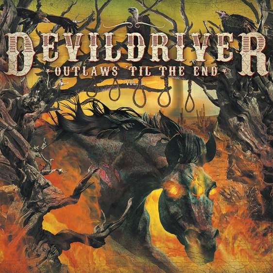 """Globally renowned, chart-topping band  DEVILDRIVER recently announced the upcoming release of their highly-anticipated full-length album of outlaw country-gone-metal anthems,  Outlaws 'Til The End: Vol. 1  . The monstrous collection of savage metal interpretations will be released via Napalm Records on July 6, 2018, and pre-orders are available now in multiple formats via  http://smarturl.it/OutlawsTilTheEnd-NPR with more format options coming soon.  The wait is over for new music! DEVILDRIVER just dropped their full, haunting rendition of  Hank3 's """"Country Heroes"""", featuring  Hank3  himself on vocals. The album's starter track kicks in with an ominous classic outlaw/country western intro, instantly careening into a heavy assault accented by  Hank3 's Ozzy Osbourne-influenced vocal approach. Quickly veering towards full heavy metal with a grooving double bass foundation, the track travels into heavy-hitting signature  DEVILDRIVER territory, wrapping up with a hair-raising, whiskey-soaked solo by guitarist Neal Tiemann.   Listen to DEVILDRIVER's """"Country Heroes"""" now, exclusively via Rolling Stone Country:  https://www.rollingstone.com/country/news/hear-hank-3-devildrivers-country-heroes-w519551   """" This record would not have meant as much to me without having  Hank3 on board,"""" says  DEVILDRIVER  vocalist Dez Fafara. """"He is one of the most authentic and real outlaw country artists out there right now. I chose to record """"Country Heroes"""" because the lyrics are extremely well-written, and using the names of all the outlaws within the song really does the song justice. 'I'm drinking some George Jones and little bit a Coe...' etc., that is genius writing from  Hank3 and should be recognized as such.""""    """"I've heard this song as 'heavy' in my head for a very long time, so to re-track it and have  Hank3 appear only to sing almost Ozzy-ish is just an over the top treat to the ears! Enjoy,"""" adds Dez.   DEVILDRIVER recently revealed part one of a new interview commentary serie"""