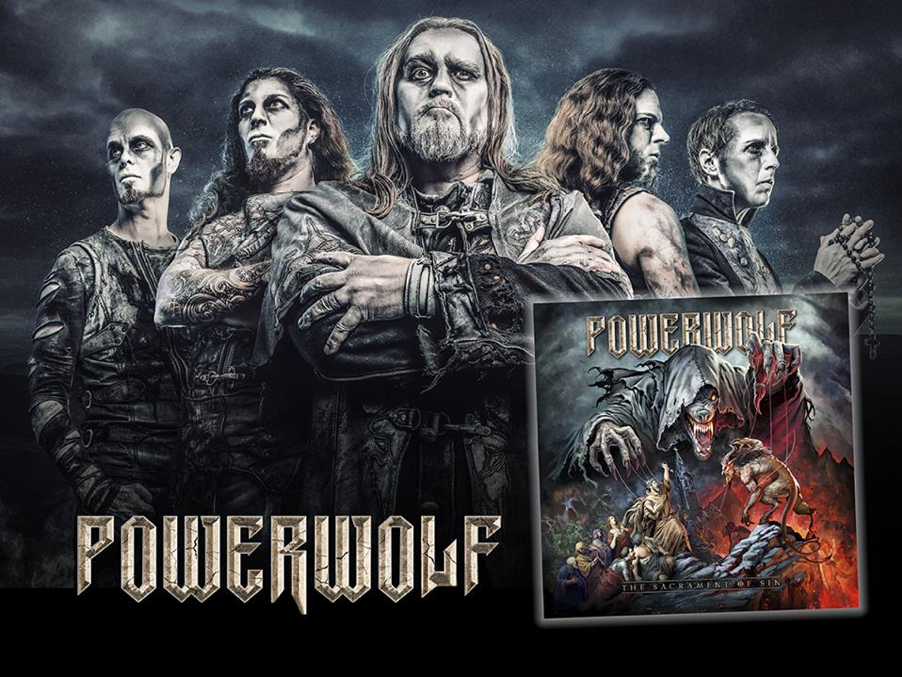 The upcoming  POWERWOLF studio album   The Sacrament Of Sin    definitely holds some surprises for you! The special edition comes as 3-CD earbook edition with studio album, a covers album and an orchestral album!  After having released the initial info and details on top-level guest for the cover album, it's now time to unveil the artwork and track listing of   Communio Lupatum  l! This cover album features the biggest  POWERWOLF hits covered by international stars of the metal scene!