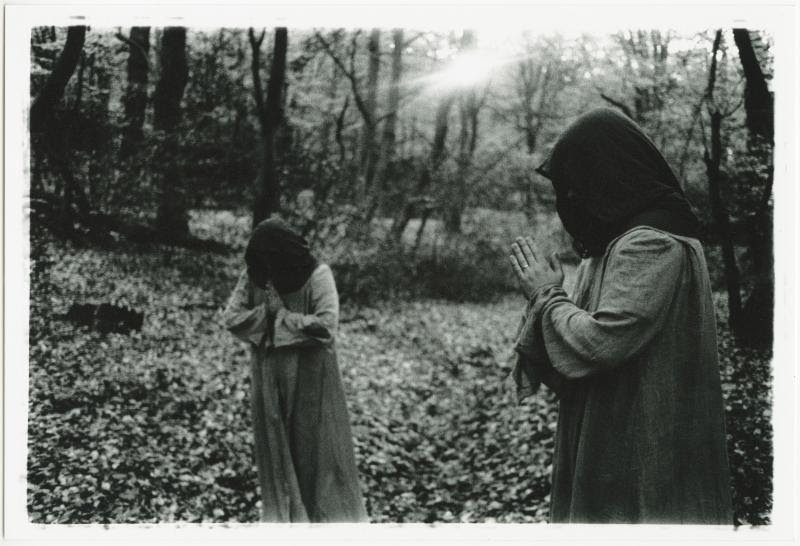 """[photo by Kerry O_Sullivan]   SUNN O))) is reissuing both  WHITE albums this summer, coinciding with Southern Lord's 20th anniversary.  For these reissues  SUNN O))) took the original full-length unedited premasters/final mixes to Matt """"The Alchemist"""" Colton at Alchemy Mastering in London for a complete high resolution 88K/24bit mastering and, crucially, cut the lacquers using Alchemy's half-speed method on their Neumann SX 74 cutterhead. The outstanding results allow the original full-length mixes to be pressed at high fidelity on the vinyl format. The new  WHITE masters reveal a broader frequency response, the bottom end is deeper and more intense, low mids are lusher, high frequencies are smoother, and the stereo image is vastly improved, seeming more three dimensional and more dynamic. The sound is clearer, sharper, more direct.   SUNN O))) co-founders Stephen O'Malley and Greg Anderson originally conceived the  WHITE albums to be """"acoustic"""" but the sessions at Fontanelle's Magnetic Park studios in Portland Oregon quickly took a far different route toward the psychedelic and the electronic/synthetic, with trance and drone experiments.   WHITE1 was originally released in 2003 by Southern Lord as a CD and very limited three-sided LP edition of 540 copies in a white sleeve with a sticker, packaged in an embroidered pillowcase and containing a sleeping pill. The  WHITE1 album was a great step forward into the experimental and highly collaborative area which  SUNN O))) has metamorphosed via and travelled since. Together with the generosity and talent of the unique and great guest artists Julian Cope, Joe Preston, Rex Ritter, Ulver, and Runhild Gammelsaeter, the concept of  SUNN O))) was brought forth from the shadows of the earth unto the broader cosmic spheres.   WHITE2 was originally released in 2004 by Southern Lord as a CD and limited double-LP edition of 1000 copies in a tip-on gatefold sleeve in various vinyl colors. The  WHITE2 album was notably the first coll"""