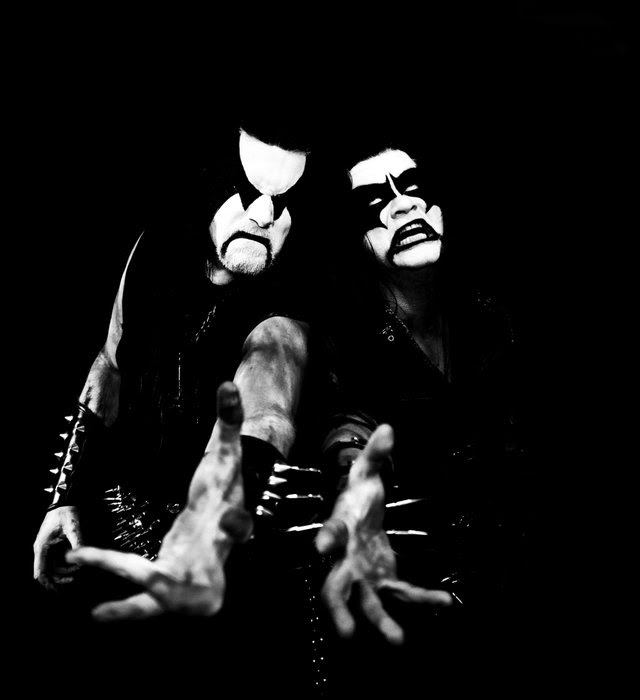 """The gates of Blashyrkh have opened again! Today, IMMORTAL  releases their first album in 9 years, titled   Northern Chaos Gods  , and deliver a raw piece of Norwegian black metal that takes the band right back to its early sound. With the previously released singles  """"Northern Chaos Gods"""" and  """"Mighty Ravendark"""" , IMMORTAL , now consisting of singer and guitarist  Demonaz  and drummer  Horgh , proved to be an unstoppable force of frost and ice.  Get   Northern Chaos Gods  now here, as digipak, 180g LP (various colors) in gatefold, a collector's box set, strictly limited mailorder steel box or digitally: http://nblast.de/ImmortalNCG   If you missed the latest singles, watch the lyric videos here:  """"Northern Chaos Gods"""" : https://youtu.be/c5uP9PlEDro   """"Mighty Ravendark"""" : https://youtu.be/9zanN5PQh64     Northern Chaos Gods   track list:  1. Northern Chaos Gods  2. Into Battle Ride  3. Gates To Blashyrkh  4. Grim and Dark  5. Called To Ice  6. Where Mountains Rise  7. Blacker Of Worlds  8. Mighty Ravendark  The line-up on the album is:  Demonaz  (vocals, guitars)  Horgh  (drums)  Peter Tägtgren (session bass)"""