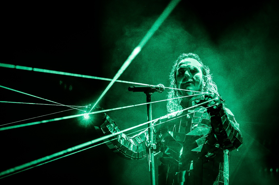 "The inimitable bond between  MOONSPELL  and 4.000 of their fans in a sold-out venue is pure electricity, captured for all eternity on the massive Live DVD/Blue Ray/3CD package named   Lisboa Under The Spell   which will be released on August 17thvia Napalm Records. It wasn't just a usual concert.  MOONSPELL  played their first two full length studio albums   Wolfheart   and   Irreligious   plus their 2015 album   Extinct   all on one evening. As a plus, they were filmed during the whole day from the early morning until the middle of the night. All this was put together as a Rockumentary on this DVD set. It's a must have for every  MOONSPELL  fan!   Today the band releases a second new live clip of their song  ""Herr Spiegelmann"" .   The band on the video:  ""Herr Spiegelmann, or Mr. Mirrorman, is a song inspired by the amazing book of Patrick Suskind, The Perfume. I guess everybody knows that book, if not shame on you. I wrote the lyrics to the ""execution scene"" where people start seeing on the tortured, beaten down man on the stake, everything wonderful they want to see. Like a mirror man, reflecting their fears and ambitions and most secret wishes. I really love this song and the visual part of it was specially designed for this show, with the laser gloves and the mirror jacket, in a tentative to convey the eerie and psychedelic atmosphere of the song. I hope you guys enjoy this advance from Lisboa Under the Spell, as it does reflect the struggle for an original and emotional cut of the songs, just like a Moonspell show should be, add magic.""     It was definitely about time, since  MOONSPELL  aficionados have been thirsting for a new live release ever since   Lusitanian Metal   (2008)! Thus,   Lisboa Under The Spell   is not simply a visual testimony to the success of Portugal`s biggest metal band - it is a celebration of the unbound creativity and pure magic that is  MOONSPELL .        Watch the "" Herr Spiegelmann""  live video right  HERE !    Pre-order  Lisboa Under The Spell   HERE !"