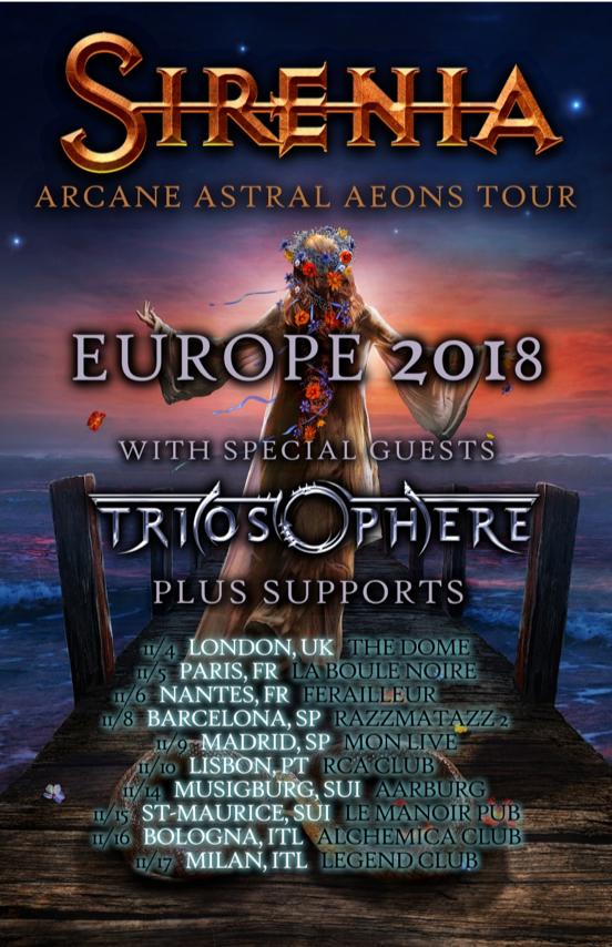 Line-Up:   Morten Veland Emmanuelle Zoldan  Jan Erik Soltvedt Nils Courbaron   Listen to SIRENIA on your streaming or download service:    Spotify    Deezer    YouTube    Apple Music    For More Information Visit:    Facebook    Instagram    Homepage    Napalm Records