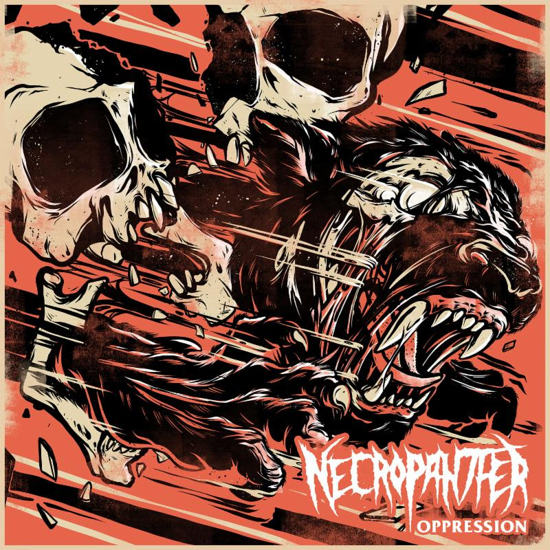 "Colorado-based metal unit  NECROPANTHER  will release a new EP later this fall. Titled  Oppression , the three-song offering was written entirely by newest member, bassist Marcus Corich.  Recorded, mixed, and mastered by the band's Paul Anop and Joe Johnson,  Oppression  is  NECROPANTHER 's first-ever EP. While the next full-length will, as always, be a combined effort, the band plans to release EPs periodically throughout the months to come that exclusively showcase one member's individual vision and compositions.   Oppression , tells the story of an artist interned in a forced labor camp so that the state can stifle his art. The songs reflect the confusion, violence, and dread of institutional abuses, presented in a melodic death metal style that is distinctly American . Oppression  depicts political failure and the claustrophobia of a world without privacy, refuge, or self-expression.    Oppression  will be self-released November 21st via the official NECROPANTHER Bandcamp page. To stream ""The Camp"" go to    THIS LOCATION   .     Oppression  Track Listing:   1. The Train  2. The Camp  3. The Fugitive    NECROPANTHER  's  Oppression  EP serves as the follow-up to their  Eyes Of Blue Light  full-length, self-issued earlier this year. The record, which Revolver crowned a, ""thunderous, technically precise album colored with tuneful guitar harmonies and hooky death metal riffs,"" chronicles the classic 1965 Frank Herbert sci-fi novel Dune. Eyes Of Blue Lightwas captured at Green Door Recordings in Denver by Felipe Patino (Rise Against, NOFX) and mixed and mastered in Gothenburg, Sweden by melodic death metal mastermind Fredrik Nordström (Dimmu Borgir, At The Gates, Arch Enemy, In Flames etc.) who gushed upon its completion, "" NECROPANTHER  is merciless with their songwriting. They're the New Wave Of Old School Death Metal! This album is cool!""   NECROPANTHER  was formed in 2014 with the simple goal of creating heavy music and playing shows that thrill audiences. The band is lead singer and guitarist Paul Anop, lead guitarist Joe Johnson, drummer Haakon Sjogren and bassist Marcus Corich.  The band has extensive experience performing and touring. Haakon Sjogren and Marcus Corich were founding members of Havok and also played together in Colorado metal project Moore. Sjogren has also handled drums for Colorado bands Frozen Eternity and Circaic. In addition to his bass playing, Corich is also an accomplished skater and has performed at the Van's Warped Tour and other high-profile events. Anop was in Kansas powerhouse Spirit Of The Stairs as well as The Empress and Whalefalls while Johnson also played in Moore, as well as the metal fusion project Wild Game. Prior to moving to Colorado, he played and toured with the Philadelphia-based power metal band Shadowdance and NWOBHM band Wastoid. He has also appeared in a video for the famed shredder The Great Kat.   http://www.necropanther.com   http://www.facebook.com/PantherICT/   http://www.twitter.com/Necropanther_   http://www.instagram.com/necropanther   http://necropanther.bandcamp.com"