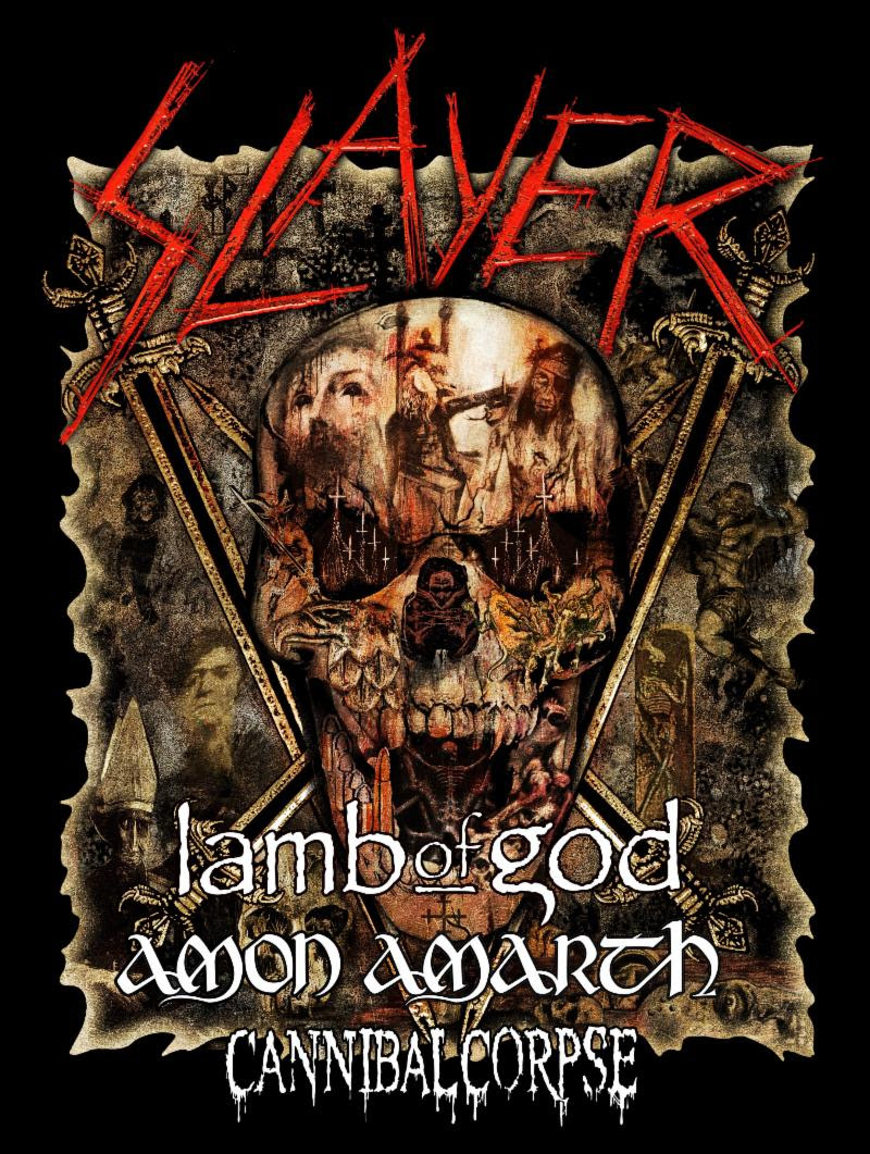 "AMON AMARTH  are confirmed to play ""Leg Five: North America"" of Slayer's Final World Tour this spring. The trek will commence on May 2nd at the Ak-Chin Amphitheatre in Phoenix, Arizona and make its way through sixteen cities upon its conclusion at the Xfinity Center Amphitheatre in Mansfield, Massachusetts on May 25th. Additional support will be provided by Lamb Of God and Cannibal Corpse. See all confirmed dates below.  Comments  AMON AMARTH , ""We are very excited to hit the road with Slayer again! It is no secret that Slayer is one of our absolute favorite bands, and even though it is sad to see such an influential and legendary band retiring, it is an absolute honor to have been invited to be a part of their farewell tour.""   AMON AMARTH  recently released  The Pursuit Of Vikings: 25 Years In The Eye Of The Storm  which includes a retrospective documentary featuring a wealth of live and behind-the-scenes content and extensive band interviews. The film tells the Swedish quintet's history through their own eyes and those of the fans that have supported them along the way. It's a thrilling collection that pays respect to the faithful and makes for a detailed and riveting introduction for those new to their inspiring story. Paired with this documentary is the live video/audio, which contains two different sets at 2017's Summer Breeze Festival in Dinkelsbuhl, Germany, capturing the unit at their very best.   For a preview of  The Pursuit Of Vikings... , visit  thepursuitofvikings.com  where the collection can be purchased in various formats.   AMON AMARTH On Slayer's ""Leg Five: North America"" Tour w/ Lamb Of God, Cannibal Corpse:   5/02/2019 Ak-Chin Amphitheatre - Phoenix, AZ  5/03/2019 Isleta Amphitheatre - Albuquerque, NM  5/05/2019 UTEP/Don Haskins Center - El Paso, TX  5/07/2019 Bert Ogden Arena - Edinburg, TX  5/08/2019 The Pavilion At Toyota Music Factory - Dallas, TX  5/10/2019 MidFlorida Credit Union Amphitheatre - Tampa, FL  5/11/2019 Coral Sky Amphitheatre - West Palm Beach, FL  5/13/2019 Big Sandy Superstore Arena - Huntington, WV  5/14/2019 Merriweasther Post Pavilion - Columbia, MD  5/16/2019 Ruoff Home Mortgage Music Center - Noblesville, IN  5/17/2019 Providence Medical Center Amphitheatre - Bonner Springs, KS  5/19/2019 DTE Energy Music Center - Clarkston, MI  5/20/2019 Covel Centre - Youngstown, OH  5/22/2019 Canadian Tire Centre - Ottawa, ON  5/24/2019 BB&T Pavilion - Camden, NJ  5/25/2019 Xfinity Center - Mansfield, MA    http://www.amonamarth.com    http://www.facebook.com/OfficialAmonAmarth    http://twitter.com/amonamarthband    http://www.instagram.com/amonamarth   http://youtube.com/AmonAmarthOfficial"