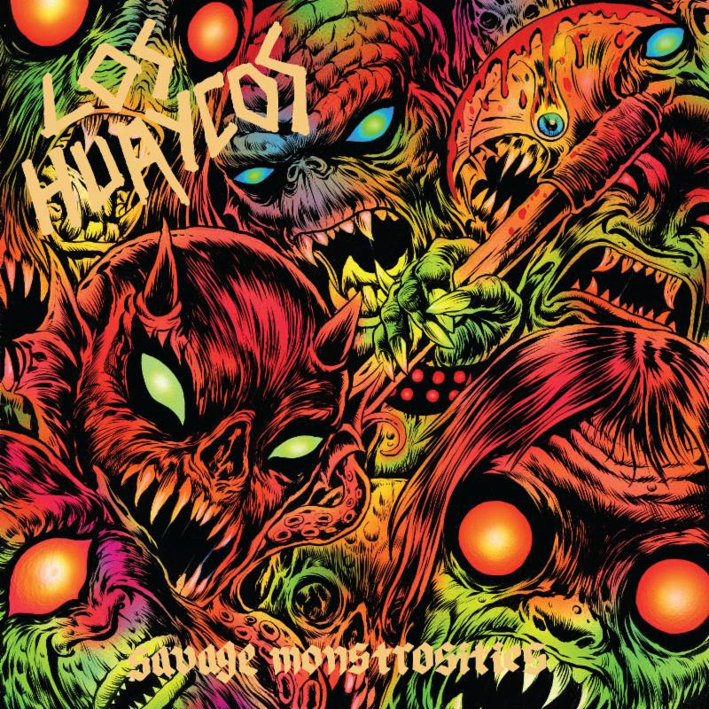 """...hyperactive, eccentric, and endlessly fun..."" -- Svbterranean    Stream / Share LOS HUAYCOS'  Savage Monstrosities  At    THIS LOCATION     Savage Monstrosities , the latest full-length from Peruvian hardcore thrash punks  LOS HUAYCOS,  is out TODAY via Tankcrimes!    Featuring ex-members of Asmereir, Metamorphosis, and Experimental Dental School,  Savage Monstrosities  boasts a raucous brand of psychedelic hardcore thrash punk recorded by Jack Shirley (Deafheaven, Torso) and wrapped in the eye-popping artwork of Skinner (High On Fire, Mastodon).  Hails Svbterranean in a recent review of the record, ""...the Oakland quartet deliver fifteen minutes of thrashing, oddball hardcore rife with elements of skate punk and noise rock and spearheaded by frantic vocal performances."" Of opening track ""Deforestation,"" BrooklynVegan champions a, ""...a no-bullshit ripper that any punk fan needs to hear...,"" while Decibel notes,  "" Combining the lighthearted fun of skate punk with the intensity and bite of thrash metal, there's a lot to like about songs like 'Igual que Hoy' that combine high-energy punk tunes with a serious message.""   Stream  Savage Monstrosities  in its entirety at    THIS LOCATION   .     Savage Monstrosities  is out now digitally and on limited edition vinyl in two color variants: 250 x Splatter and 250 x Bluetooth Blue. For digital orders go    HERE   . For physical orders go to   THIS LOCATION   .   Although the friendship between Asmereir and Metamorphosis began in the rehearsal studio Chinchay Melchormalo in Lima, Peru in 1996,  LOS HUAYCOS  was forged in mid-2013 in Oakland, California. The word ""huayco"" comes from the Quechua, which means ""depth/valley"" and refers to landslides caused by torrential rains in the Andes. Following a three-song demo, the band played their first show - Tankcrimes' Brainsqueeze II on April 20th, 2014. Since then,  LOS HUAYCOS  has performed in various places throughout the Bay Area, and with several of their favorite bands like Dag Nasty, Ghoul, The Shrine, Wolfeyes, and Midnight. Additional live highlights include opening for NOFX in Lima, Peru among other shows in their home city, an East Coast tour, and performances at Skull Fest in Pittsburgh, Pennsylvania two years in a row.  In September of 2017, the casting director for Netflix's  13 Reasons Why  series contacted the band to record a Circle Jerks cover (""Wild In The Streets"") and play live in episode 10 of the second season. LOS HUAYCOS  recorded the track at Atomic Garden Studios in East Palo Alto, California where they would return to record this year's  Savage Monstrosities .   ""Peruvian-American thrashers    LOS HUAYCOS    sound like they're having a ton of fun on Savage Monstrosities... Combining the lighthearted fun of skate punk with the intensity and bite of thrash metal, there's a lot to like about songs like 'Igual que Hoy' that combine high-energy punk tunes with a serious message."" -- Decibel    ""...a no-bullshit ripper that any punk fan needs to hear..."" -- BrooklynVegan on ""Deforestation""    ""...hyperactive, eccentric, and endlessly fun. On Savage Monstrosities  the  Oakland quartet deliver fifteen minutes of thrashing, oddball hardcore rife with elements of skate punk and noise rock and spearheaded by frantic vocal performances."" -- Svbterranean    http://www.facebook.com/loshuaycos   http://www.tankcrimes.com   http://www.facebook.com/tankcrimes"