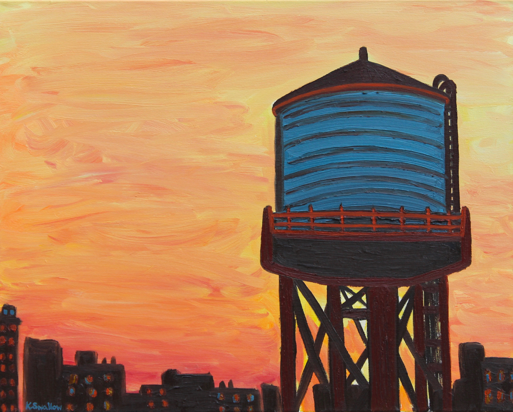 New Day Rising, oil on canvas, 24x30, 2013, SOLD