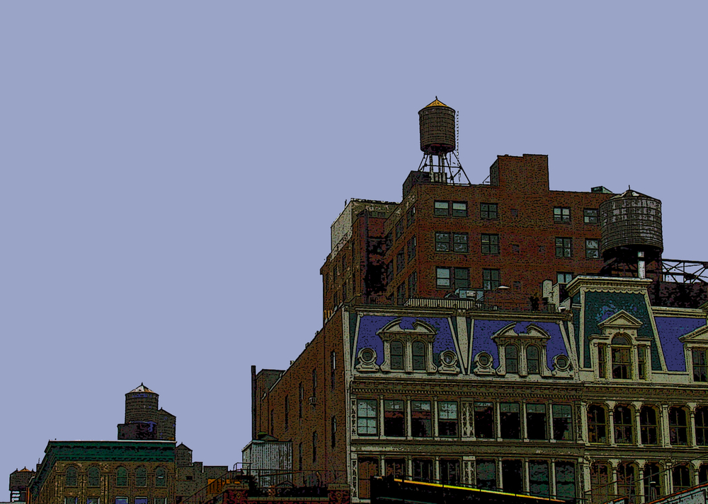 Figure 8 (New York), digitally enhanced photograph, 2009