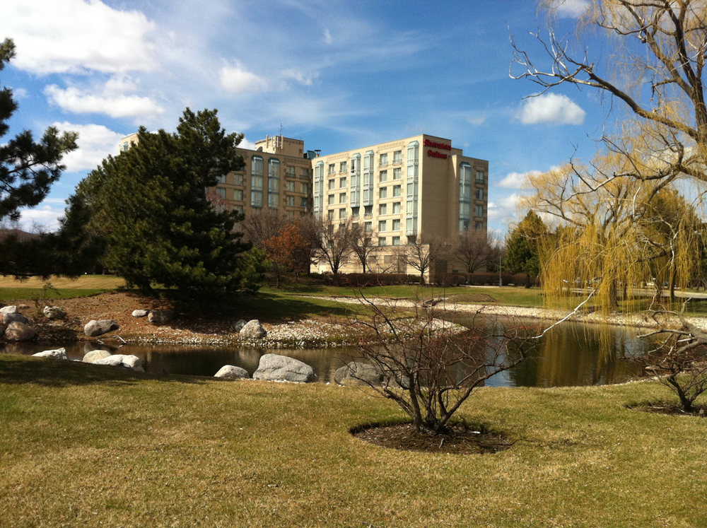 Sheraton Hotel and Suites (Exterior) - Elk Grove Village, IL