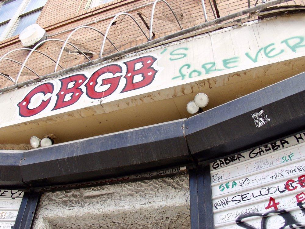 CBGB's Forever (New York), photograph, 2006