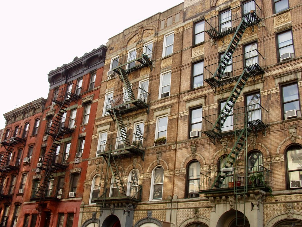 East Village Fire Escapes (New York)