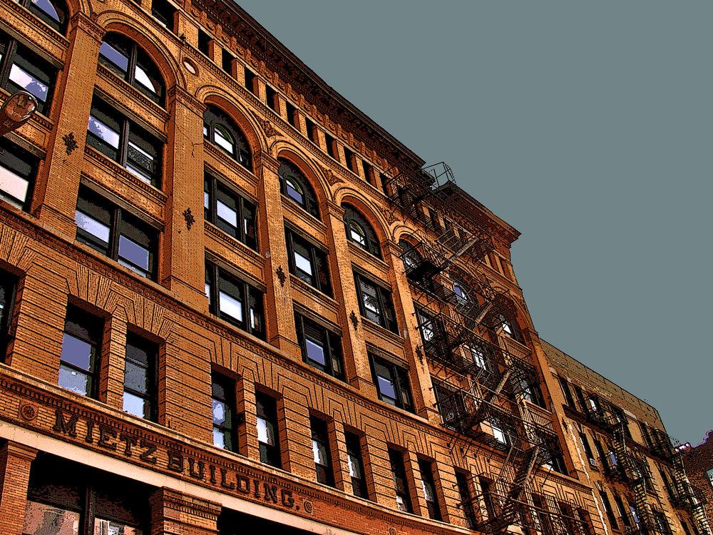 Mietz Building (New York), digitally enhanced photograph, 2009.jpg