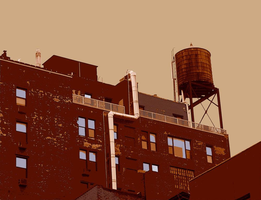 The Pipe (New York), digitally enhanced photograph, 2009.jpg